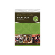 Sticky Dot Die-Cut Adhesive Sheets 8/Pkg-22cm x 28cm