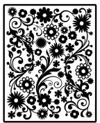 Spellbinders Impressabilities Dies-Flowers