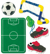 Jolee's Boutique Dimensional Stickers-Kid's Soccer