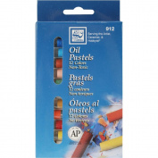 Loew-Cornell 136335 Oil Pastels 12-Pkg