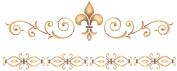 Stencil Magic Decorative Stencils-Elegant Fleur De