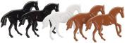 Eyelet Outlet Brads, Horse Multi-Coloured