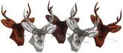 Eyelet Outlet Brads-Deer Head 12/Pkg