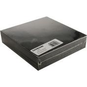 Grafix Medium Weight Black Chipboard Sheets, 15cm x 15cm