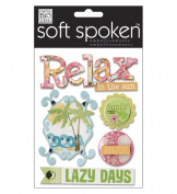 Me & My Big Ideas SS-772 Soft Spoken Themed Embellishments