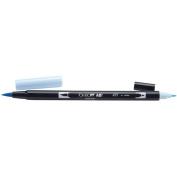 Tombow Dual Brush Marker Open Stock-491 Glacier Bl