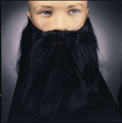 Costumes For All Occasions RU2045BK Full Beard and Moustache Black