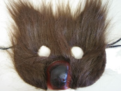 Costumes For All Occasions RU1283 Bear Plush Mask