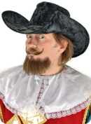 Costumes For All Occasions ELA3475 Musketeer Hat Adult - Black