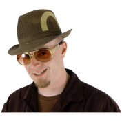 Glasses Rock & Roller Gold Brown