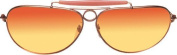 Costumes For All Occasions Els28406 Glasses Aviators Gold Sunset