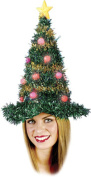 Christmas Tree Light Up Hat Adult Halloween Accessory