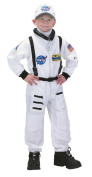 Aeromax ASW-46 Junior Astronaut Suit with Embroidered Cap size 4/6 white