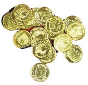 Costumes For All Occasions QA69 Doubloons Gold Pack Of 144