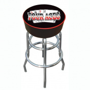 80cm Four Aces Logo Padded Backless Swivel Bar Stool