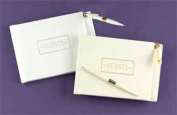 WMU Ivory Small Guest Book with Pen