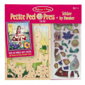 Petite Peel & Press Sticker by Number - Fairy [With Stickers]