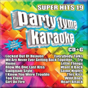 Party Tyme Karaoke - Super Hits 19 [16-song CD+G] *