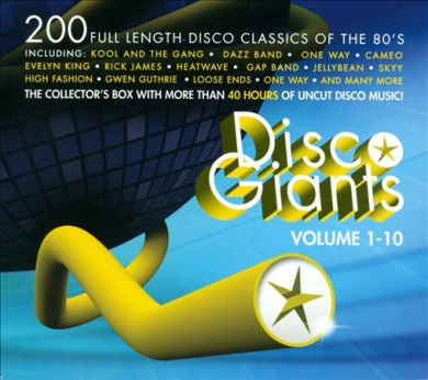 Disco Giants, Vol. 1-10 [Box]
