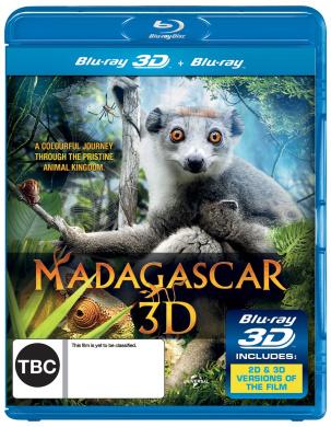 Madagascar (3D Blu-ray/Blu-ray) (1 Disc)