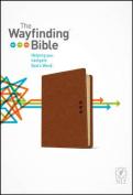 The NLT Wayfinding Bible Leatherlike Brown