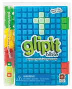 NLT Glipit Bible Silicone Blue (Silicone binding)