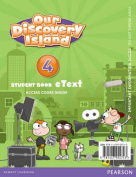 Our Discovery Island American English 4 eText Students Book Access Card