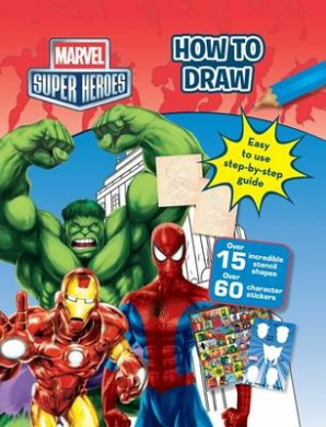 How to Draw Marvel Super Heroes Drawing Folder