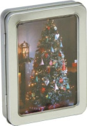 Christmas Trees and Decorations Tinned Notecards