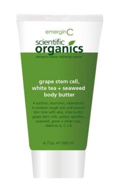 EmerginC Scientific Organics Grape Stem Cell, White Tea + Seaweed Body Butter 200ml