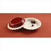 Corningware 1096898 Etch 9.5 in. Pie Plate - Brick