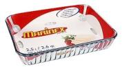 Marinex Rectangular Glass Fluted Baking Dish, 11-1.9cm x 22.9cm x 2-0.3cm