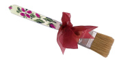 CuteTools 12302 Pastry Brush, Rose Floral