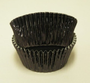 Black Foil Cupcake Muffin Baking Cups 50 count
