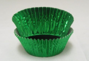 Green Foil Cupcake Muffin Baking Cups 50 count