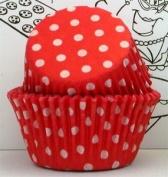 Goldas Kitchen Baking Cups - Polka Dot - Red