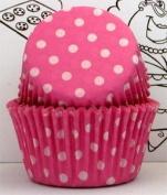 Goldas Kitchen Baking Cups - Polka Dot - Pink