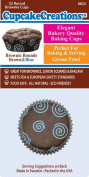 Cupcake Creations, Brown And Blue Brownie Baking Cups, 32