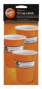 Wilton Skulls & Scrolls 12 Count Cup Labels [Kitchen]