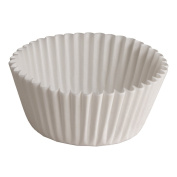 Hoffmaster BL214-6SP Fluted Bake Cup, 150ml Capacity, 15.2cm Diameter x 1-2.2cm Height, White