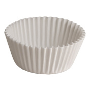 Hoffmaster BL112-3-1/2SP Fluted Bake Cup, 30ml Capacity, 3-1.3cm Diameter x 2.5cm Height, White