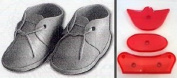 JEM Cutters Baby Bootie Cutter Set - Large