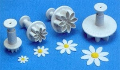 PME DAISY, MARGUERITE Plunger Cutters set of 4