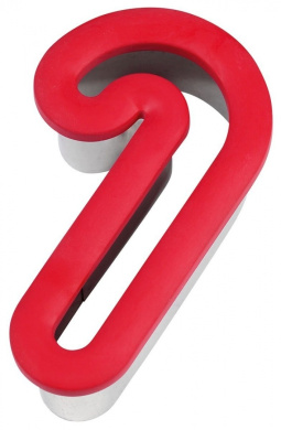 Comfort-Grip Cookie Cutter 10cm -Candy Cane