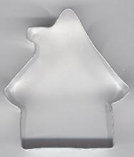 Gingerbread House Metal Cookie Cutter