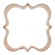 Fancy Square Cookie Cutter 10.2cm