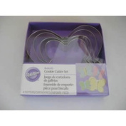 Nesting Metal Cookie Cutter Set 4/Pkg-Butterfly