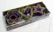Brandani Assorted Rainbow Cookie Cutters