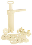Hutzler Easy Action Cookie Press and Food Decorator