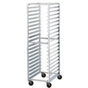 Aluminium Welded Front Load Curved Top Pan Rack